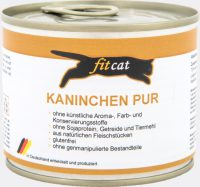 fitcat Kaninchen PUR